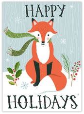Fox Says Happy Holidays