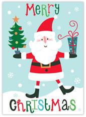 Gleeful Santa