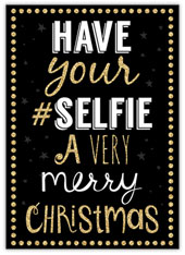 Hashtag Christmas Selfie