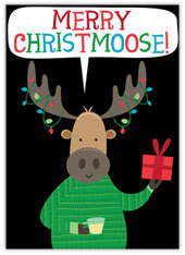 Christmoose Moose