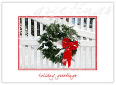 Snowy Holiday Wreath