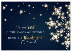Spirited Snowflake of Thanks
