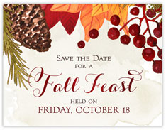 Thanksgiving Feast Save The Date