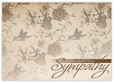 In Nature Sympathy Card