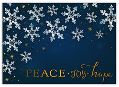Peace, Joy, Hope Snowfall