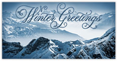 Winter Greetings Peak
