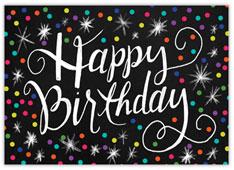 Happy Dots Birthday