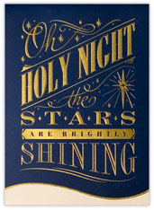 Stars Brightly Shining Card