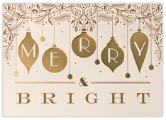 Merry and Brght Ornaments