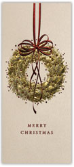 Gold Embossed Wreath