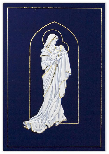 Madonna and Child Christmas - Religious from CardsDirect