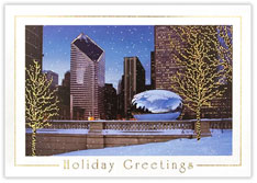 Millennium Park Holiday Card
