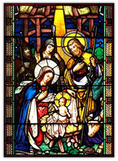 Stained Glass Christmas Story