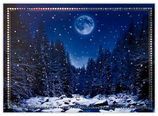 Winter Moon - Winter Scenes from CardsDirect