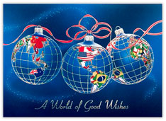 World of Good Wishes Ornaments