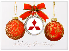 Red Logo Ornaments