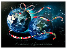 World Wide Wishes Global Holiday Card