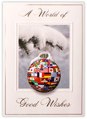 International Flags Ornament
