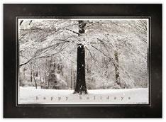 Holiday Snowy Tree