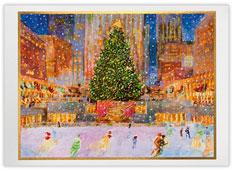 Vibrant Rockefeller Center