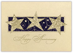 Gold-Star Day Anniversary Card