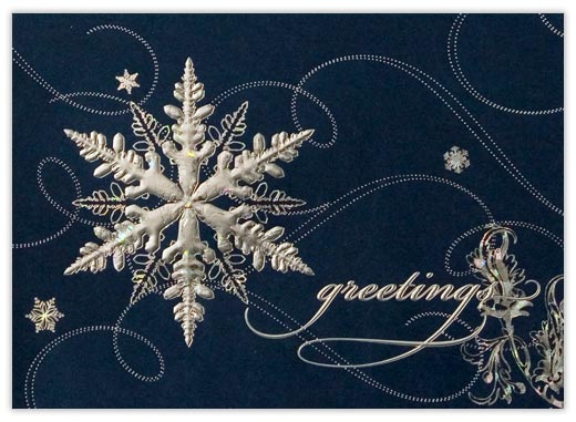 Celestial Snowflake - Snowflake from CardsDirect