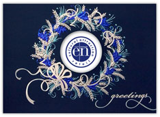 Blue Wreath Logo