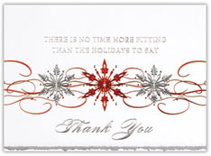 Sparkling Snowflakes Card