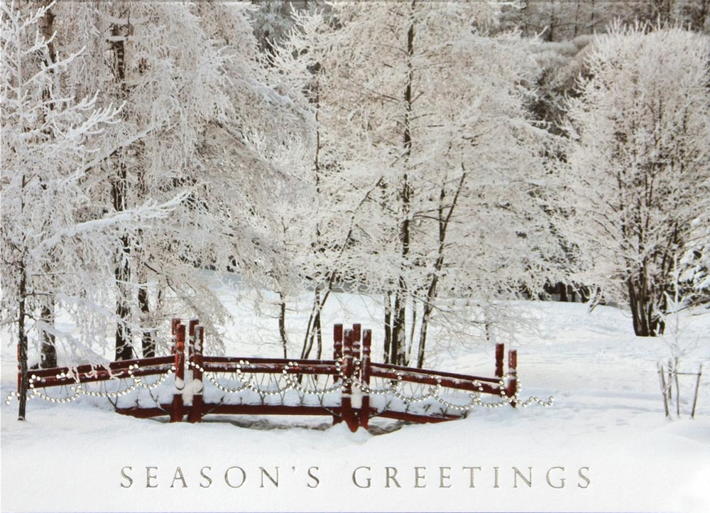 christmas cards winter - photo #34