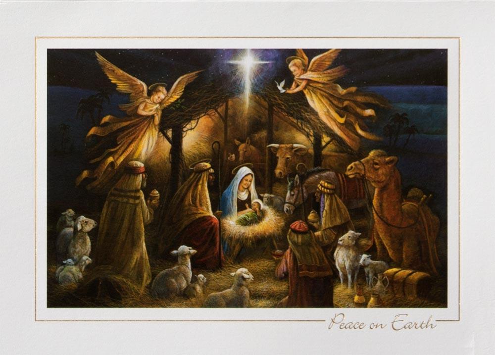 christian christmas art - photo #2