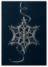 Beaded Snowflake