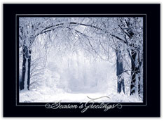 Frosty Morn Christmas Card