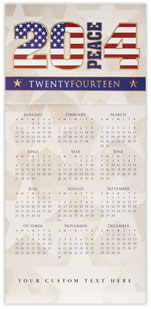 Stars and Stripes Calendar