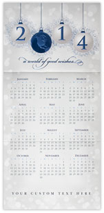 World of Good Wishes Calendar