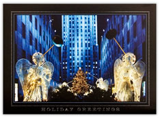 Angels at Rockefeller Center