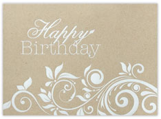 Birthday Flourishes Card