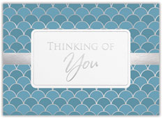 Geometric Thinking of You Card
