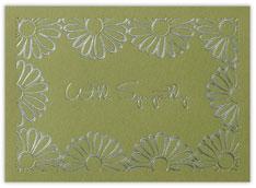 Floral Sympathy Card