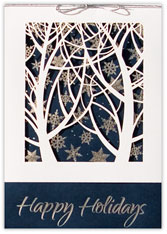 Radiant Beauty Christmas Card