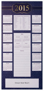 2015 Dates to Remember Calendar