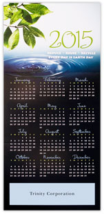 Reduce, Reuse, Recycle 2015 Calendar