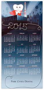 Dental Calendar Card