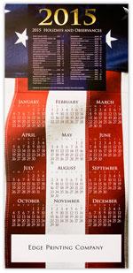 2015 Patriotic Wish Calendar
