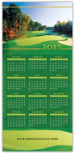 Nature's Office Calendar Card