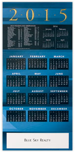 2015 Simple Sophistication Calendar