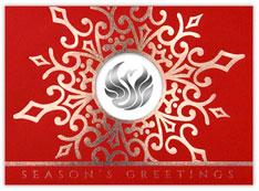 Snowflake Logo Card