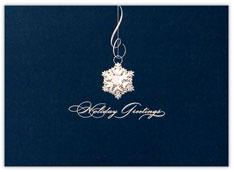 Holiday Greetings Snowflake