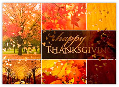 Thanksgiving Collage Card