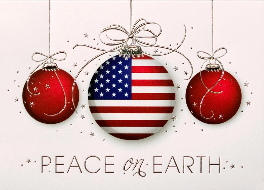 Patriotic Ornaments Trio - Patriotic from CardsDirect