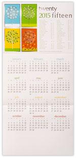 2015 Seasons Calendar